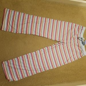 Jockey New Medium Sleepware Chevron pants striped
